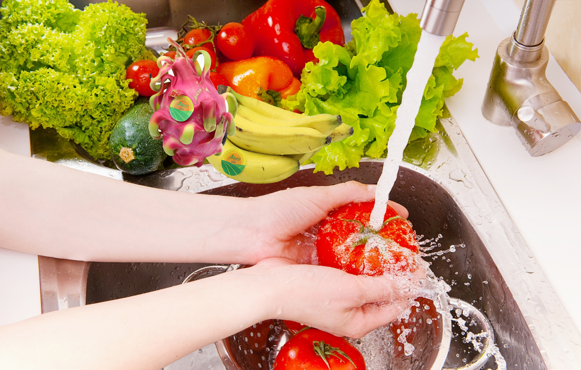 What is clean food? Here are some safe ways to clean vegetables, tubers, fruits, should housewives know.
